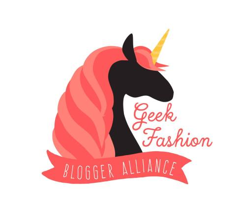I'm happy to be part of the Geek Fashion Blogger Alliance. A group set on forming a positive alliance + a community of geeky fashion bloggers. Find our group on Facebook
